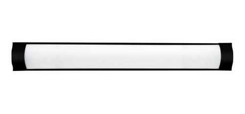 Luminaria Linear Sl1060132  Fina 18w 6000k Preta Skylux