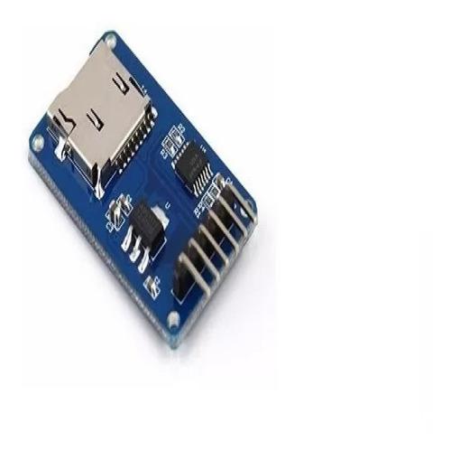 Modulo Lector Micro Sd Para Arduino Pic Avr Arm