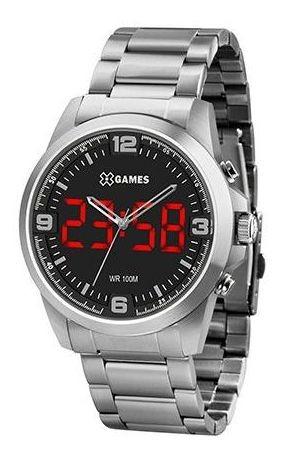 Relógio Masculino X Games Xteel Prata Xmssa009-p2sx