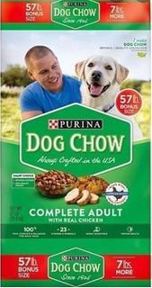 Alimento Para Perros Purina Dog Chow 57 Libras=26 Kilos.