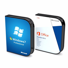 Windows 7 Pro + Office.2013 (2 Dvds) + Licencias 1pc