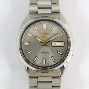 Relógio Seiko Automático Masculino Aço Snx73k1