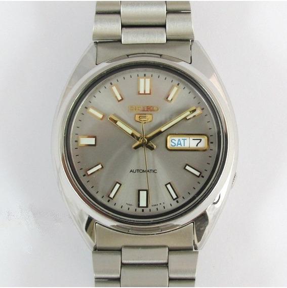 Relógio Seiko Automático Masculino Aço Snxs75k1
