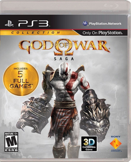 ..:: God Of War Saga Con 5 Juegos ::.. Para Playstation 3