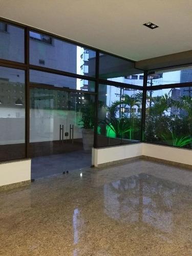 Sala Comercial Para Locação, Centro, Santo André. - Sa3801