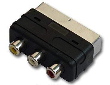 Imagen 1 de 1 de Adaptador Scart A Rca Dreambox Euroconector