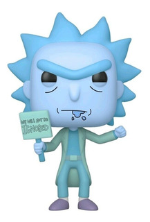 Funko Pop! Rick And Morty Hologram Rick Clone Glow Exclusive