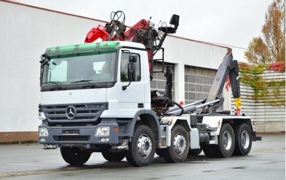 Camión Grúa Multi Propósito Ampliroll Y Grua Articulada