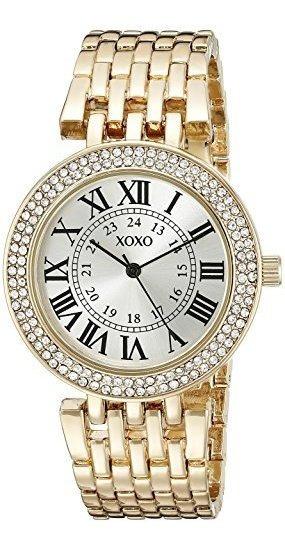 Xoxo Mujer Xo265analog Display Gold-tone Reloj De Cuarzo A