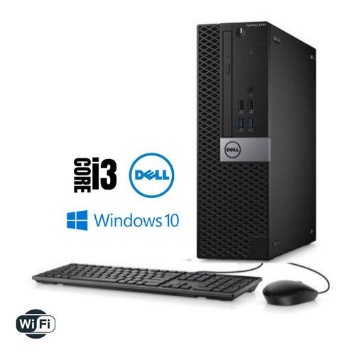 Imagem 1 de 2 de Pc Dell Intel Core I3 8gb Ram Hd 2tb Windows 10 Brinde!