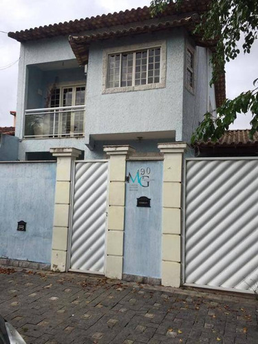 Casa Com 3 Dormitórios À Venda, 200 M² Por R$ 450.000,00 - Campo Grande - Rio De Janeiro/rj - Ca0427