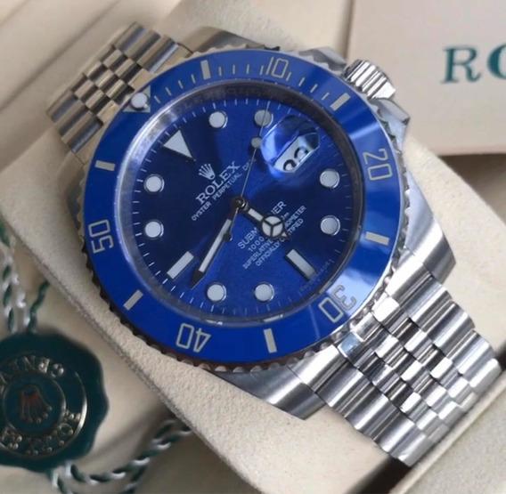 Relógio Rolex Submariner, Automático,acabamento Suíço