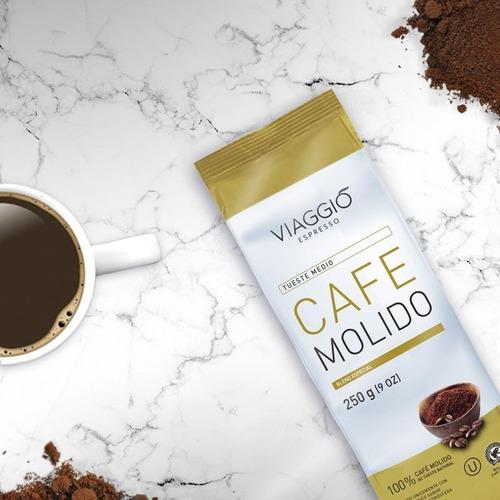 Café Molido | Tueste Claro | 250 Grs | Viaggio Espresso