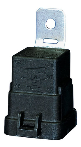 Weatherproof  Amp Spdt Mini Relay With Bracket, Black