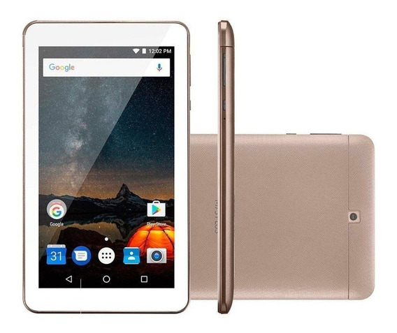 Tablet Multilaser M7 Wifi+3g Memória 16 Gb Nb306