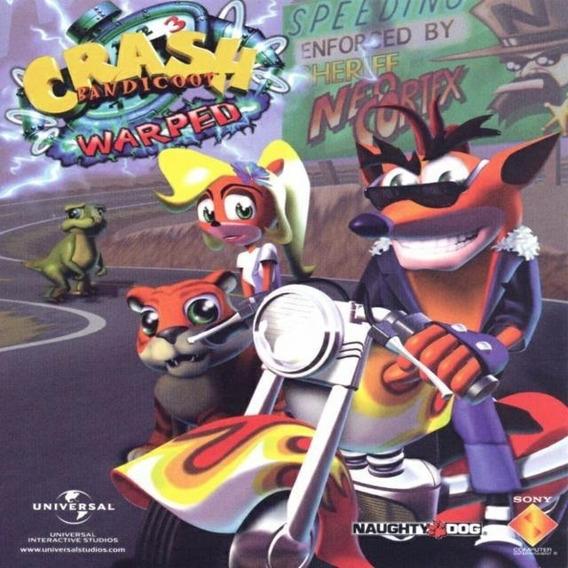 Crash Bandicoot 3 - Warped Jogo Para Pc + Bônus Grátis