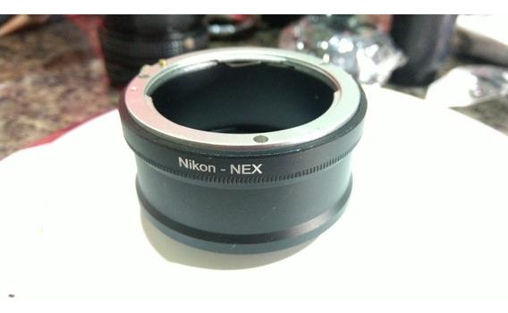 Adaptador Para Lentes Nikon - Nex Sony