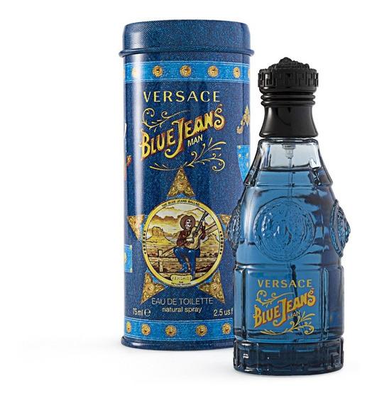 Blue Jeans De Versace Eau De Toilette 75 Ml.