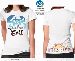 Playera Star Vs Fuerzas Del Mal Wat