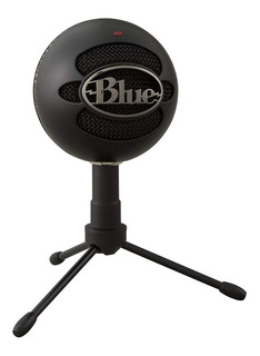 Microfono Condensador Blue Snowball Ice Usb Estudio Podcast