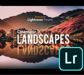 Cinematic Landscapes Premium Lightroom Presets Paisagem
