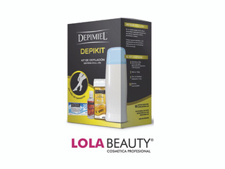 Depimiel Kit De Depilación Descartable Roll-on Depikit