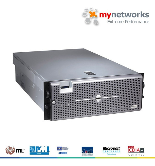 Servidor Dell Poweredge R900 (24 Cores / 128gb Ram / 10tb)