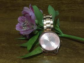 Relógios Relógio Feminino Dourado Luxo Barato