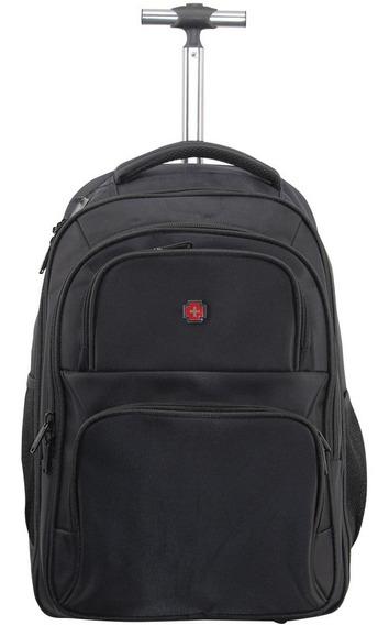 Swissbrand Mochila Porta Laptop Con Ruedas Sbr-00096