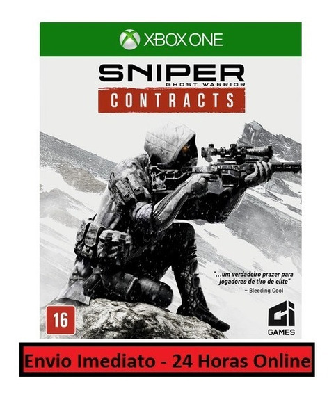Sniper Ghost Warrior Contracts Jogo + Dlc