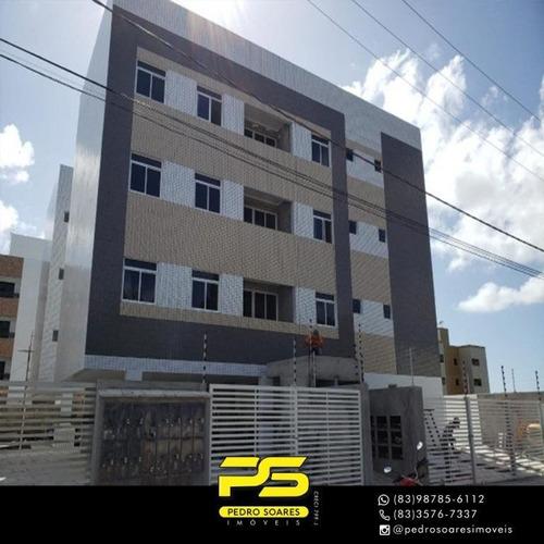 Apartamento Com 2 Dormitórios À Venda, 60 M² Por R$ 140.000 - Cidade Dos Colibris - João Pessoa/pb - Ap3336