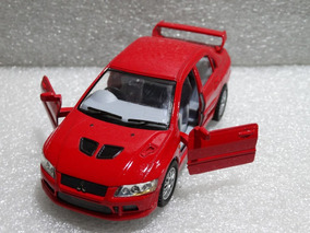 Mitsubishi Lancer Evolution Vii Kinsmart 1:36 Loose Vermelho