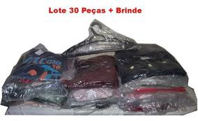 Renda Extra Lote Roupas 30 Pças P/ Brecho Primeira Linha