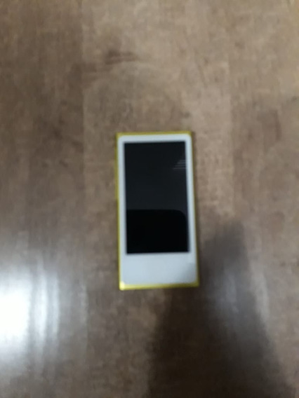 iPod Nano 7 16gb Amarelo Md476ll Perfeito Estado
