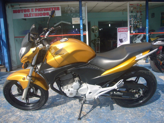 Honda Cb 300 R Amarela Ano 2011 Troca Financia
