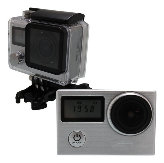 Action Camera Go Sport Pro Wi-fi Lcd 1080p Prova D