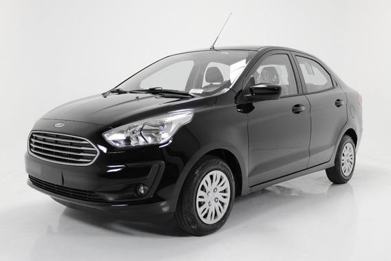 Ford Ka 1.0 Tivct Flex Se Preto Sedan Sem Entrada
