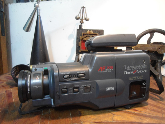 Filmadora Panasonic Af X6 Ccd - No Estado