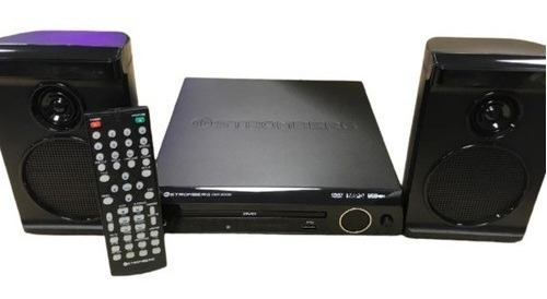 Reproductor Dvd Stromberg Dht2000 Parlantes 2.1 Usb Dvd Mp3