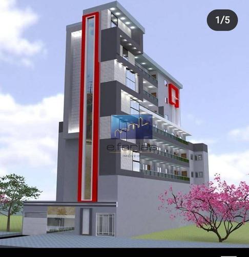 Imagem 1 de 6 de Studio Com 2 Dormitórios À Venda, 44 M² Por R$ 230.000,00 - Cidade Patriarca - São Paulo/sp - St0396