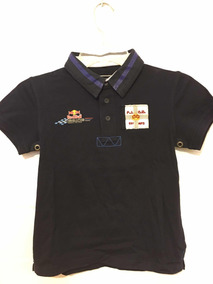 Playera Red Bull Racing Para Niño 100% Algodón