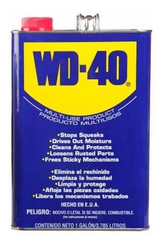 Lubricante Aceite Wd-40 1 Galon Aflojatodo