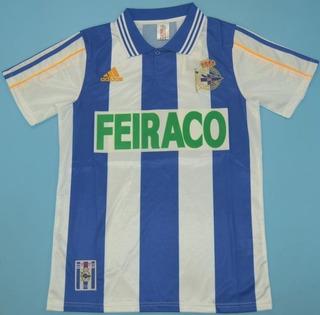 Camisa Retrô La Coruña (espanha) 1999 / 2000 - Uniforme 1