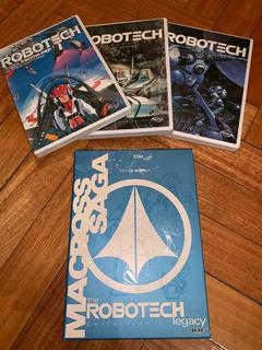 Colección Temporada 1 Robotech Legacy Dvd Originales