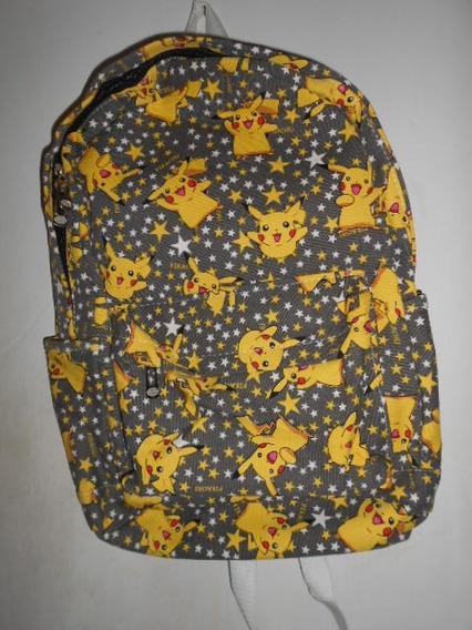 Mochila De Pikachu