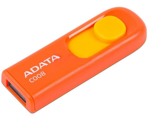 Memoria USB ADATA C008 16GB naranja/amarillo