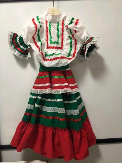 Vestido Mexicano, Noche Mexicana 2 Años 15 Septiembre