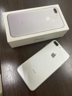 Celular iPhone 7 Plus 128gb Branco/prata