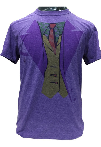 Polera Joker Traje Dc Comics