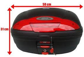Bau Givi 45 Litros E450n,e450nt + Bagageiro Cbx 250 Sr29